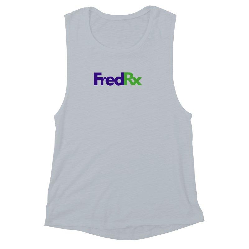 FredRx logo Women's Muscle Tank by FredRx's Artist Shop