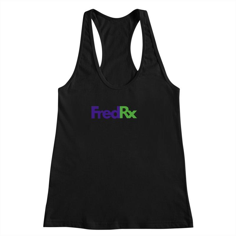 FredRx logo Women's Racerback Tank by FredRx's Artist Shop