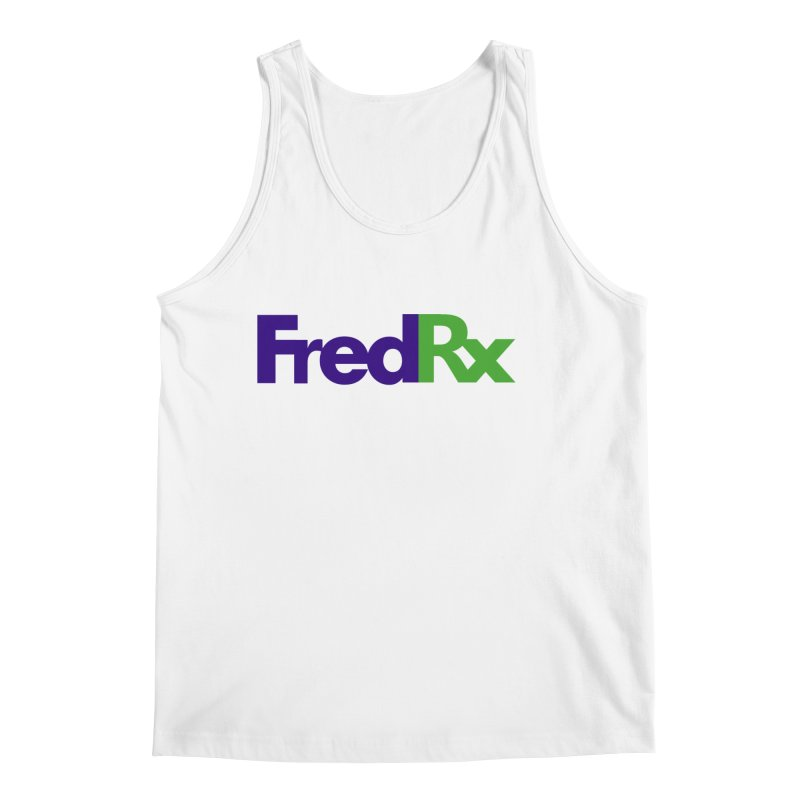 FredRx logo Men's Regular Tank by FredRx's Artist Shop