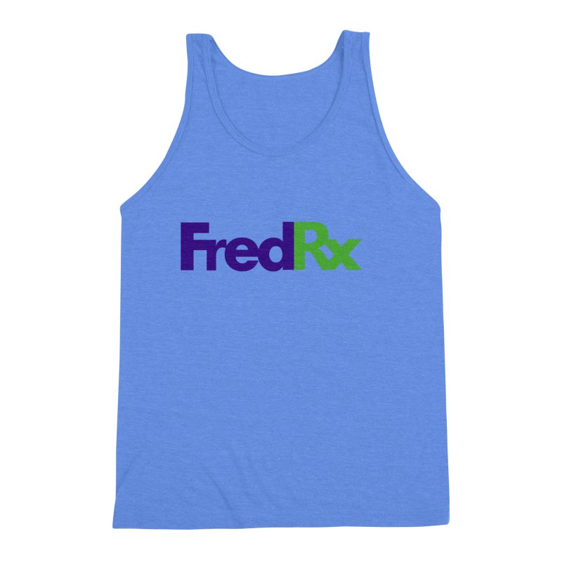 FredRx logo Men's Triblend Tank by FredRx's Artist Shop