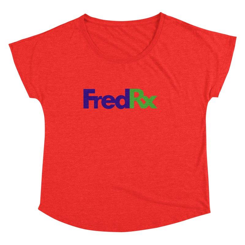 FredRx logo Women's Scoop Neck by FredRx's Artist Shop