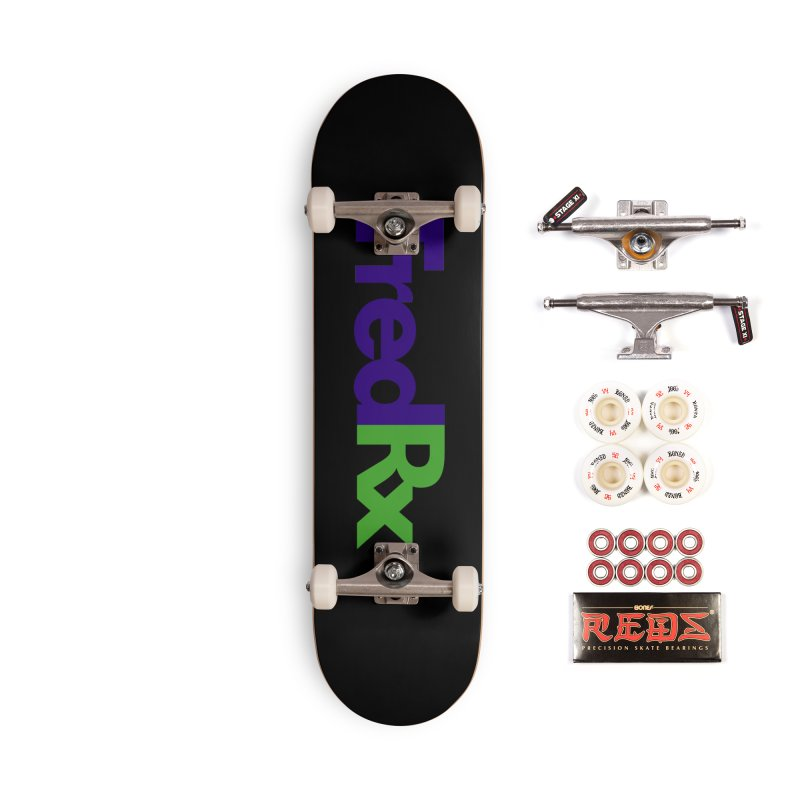 FredRx logo Accessories Skateboard by FredRx's Artist Shop