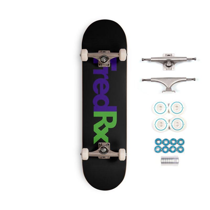 FredRx logo Accessories Skateboard by FredRx's Artist Shop