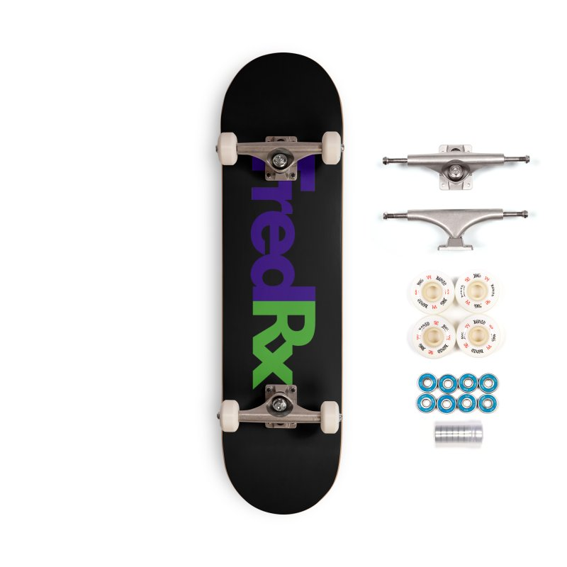 FredRx logo Accessories Complete - Premium Skateboard by FredRx's Artist Shop