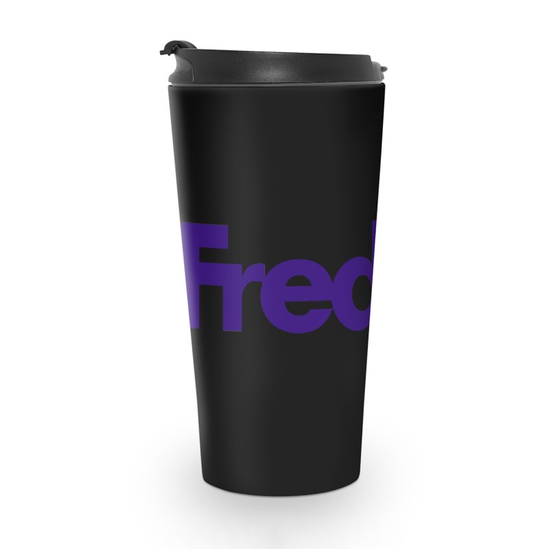 FredRx logo Accessories Travel Mug by FredRx's Artist Shop