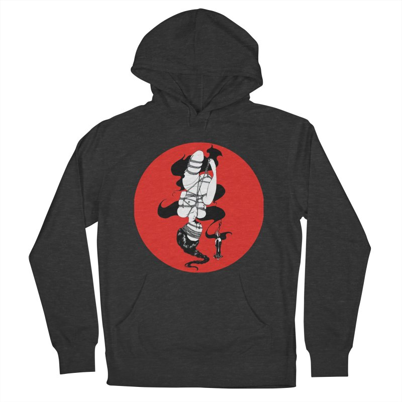 human with red Men's Pullover Hoody by FredRx's Artist Shop