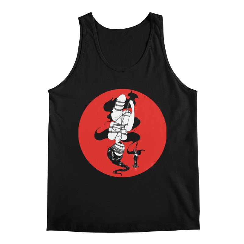 human with red Men's Regular Tank by FredRx's Artist Shop