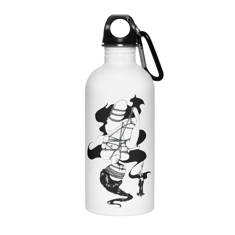 human Accessories Water Bottle by FredRx's Artist Shop