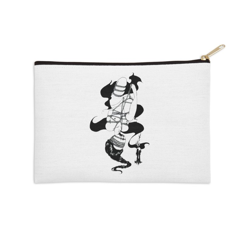human Accessories Zip Pouch by FredRx's Artist Shop