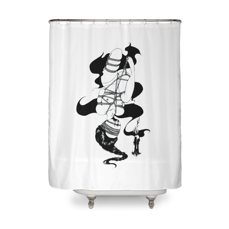 human Home Shower Curtain by FredRx's Artist Shop