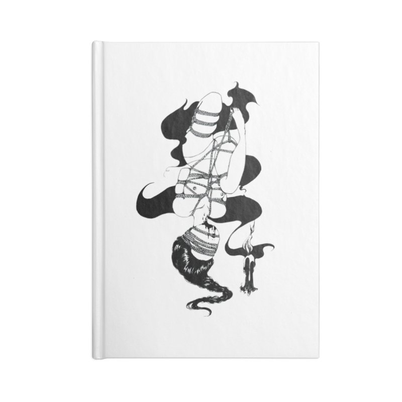 human Accessories Lined Journal Notebook by FredRx's Artist Shop