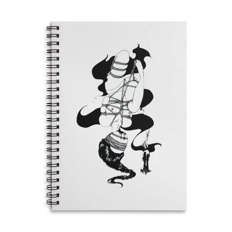 human Accessories Lined Spiral Notebook by FredRx's Artist Shop