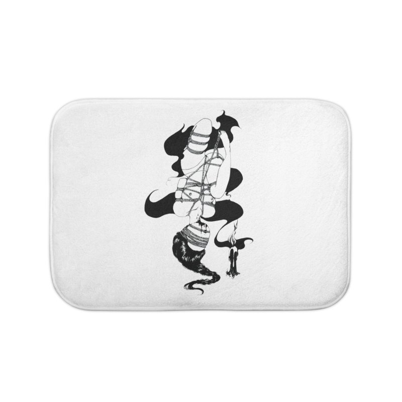 human Home Bath Mat by FredRx's Artist Shop