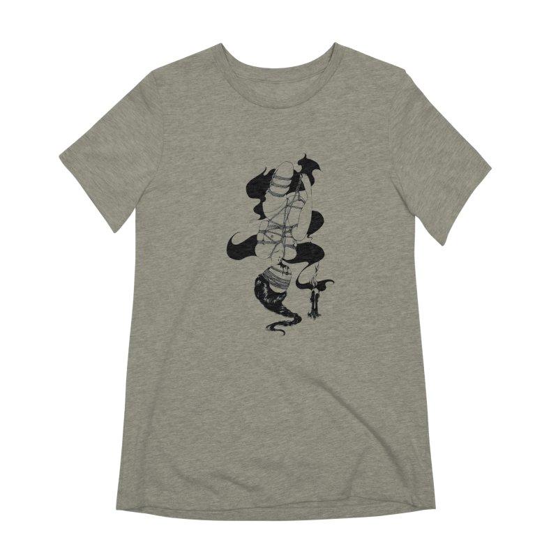 human Women's Extra Soft T-Shirt by FredRx's Artist Shop