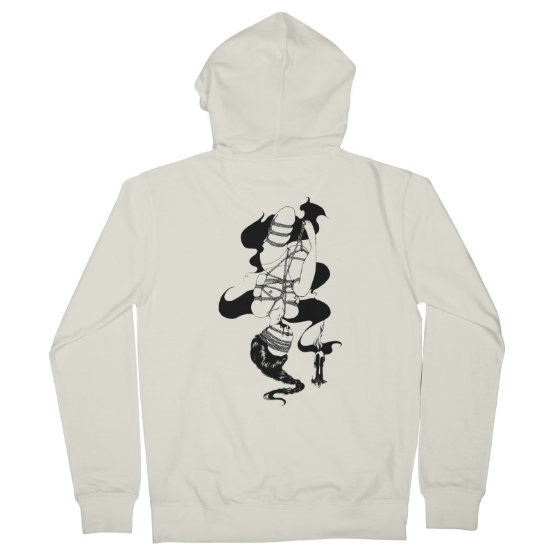 human Men's French Terry Zip-Up Hoody by FredRx's Artist Shop