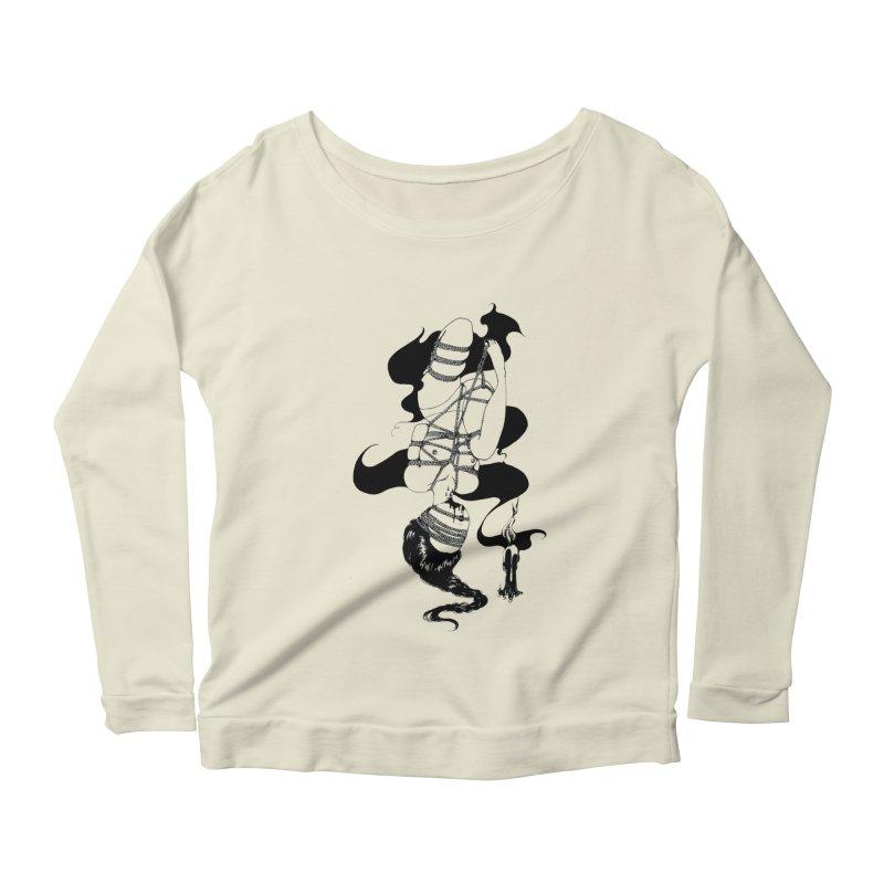 human Women's Scoop Neck Longsleeve T-Shirt by FredRx's Artist Shop