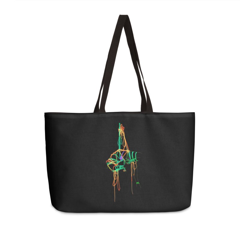 InTension Accessories Weekender Bag Bag by FredRx's Artist Shop