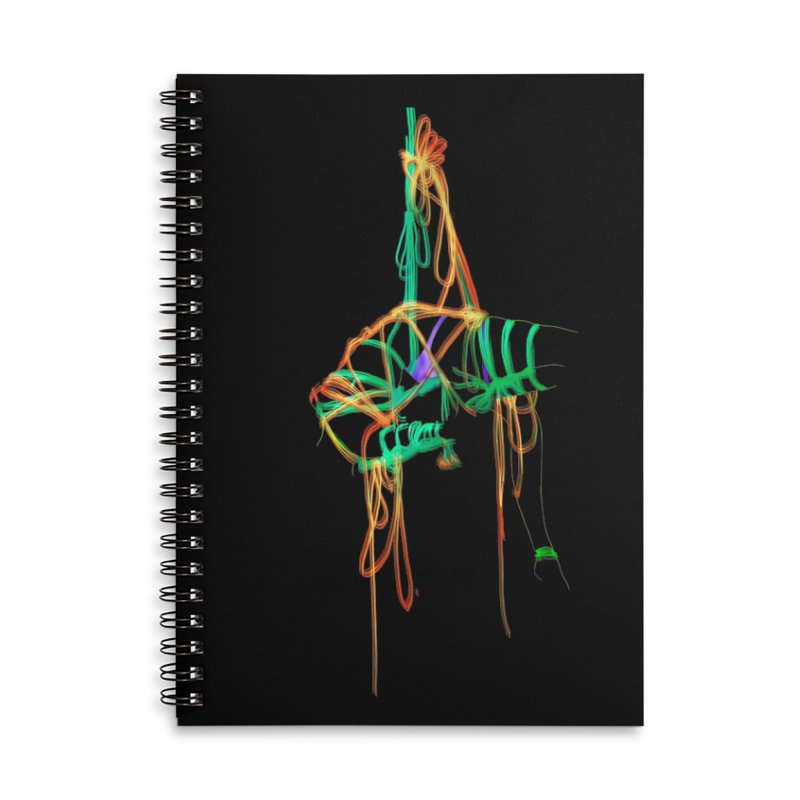 InTension Accessories Lined Spiral Notebook by FredRx's Artist Shop