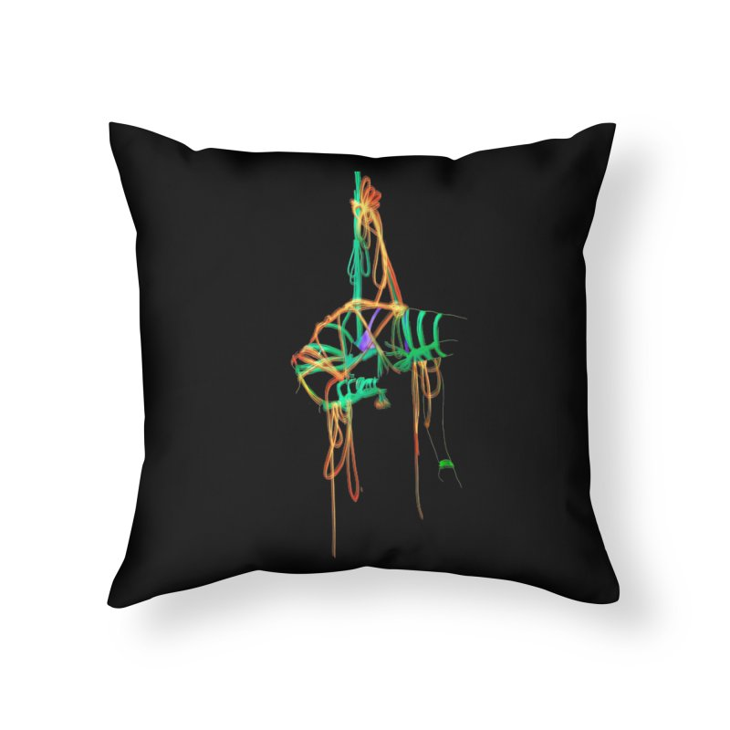 InTension Home Throw Pillow by FredRx's Artist Shop