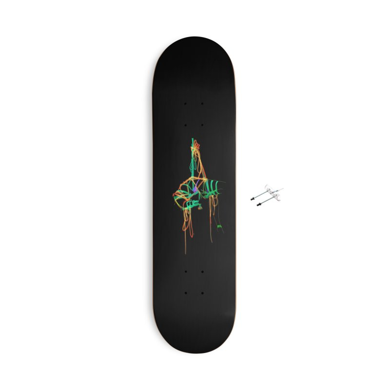 InTension Accessories With Hanging Hardware Skateboard by FredRx's Artist Shop