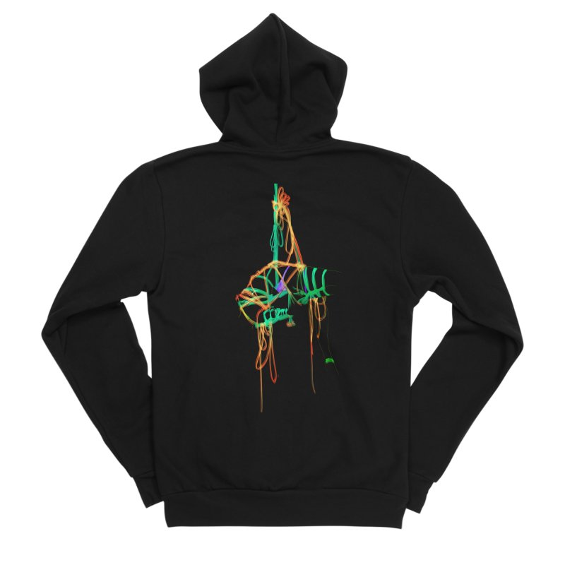InTension Men's Sponge Fleece Zip-Up Hoody by FredRx's Artist Shop