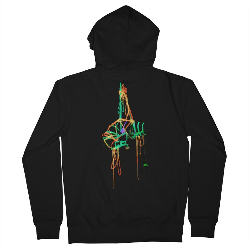 InTension Men's Zip-Up Hoody by FredRx's Artist Shop