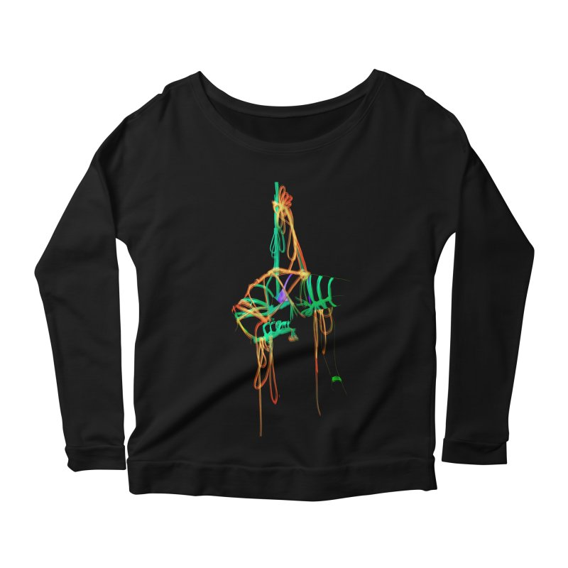 InTension Women's Scoop Neck Longsleeve T-Shirt by FredRx's Artist Shop