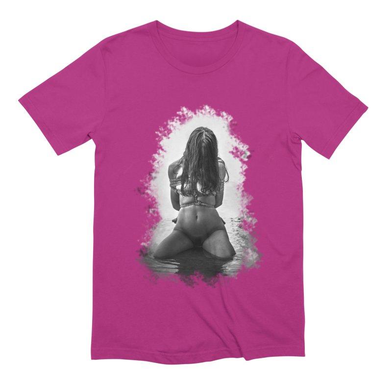 beach bondage Men's Extra Soft T-Shirt by FredRx's Artist Shop
