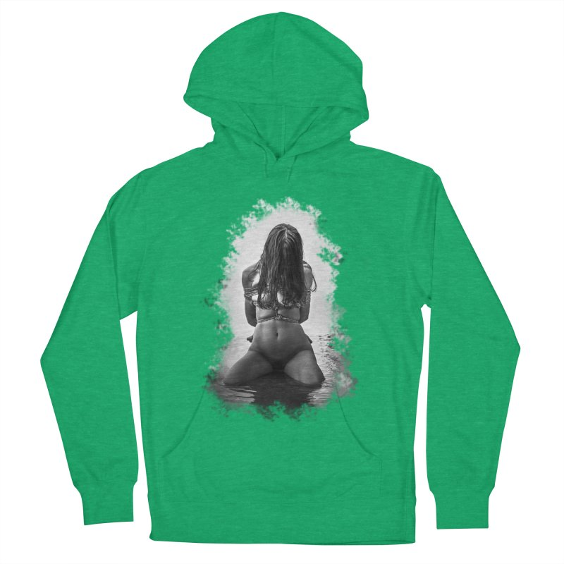 beach bondage Women's Pullover Hoody by FredRx's Artist Shop