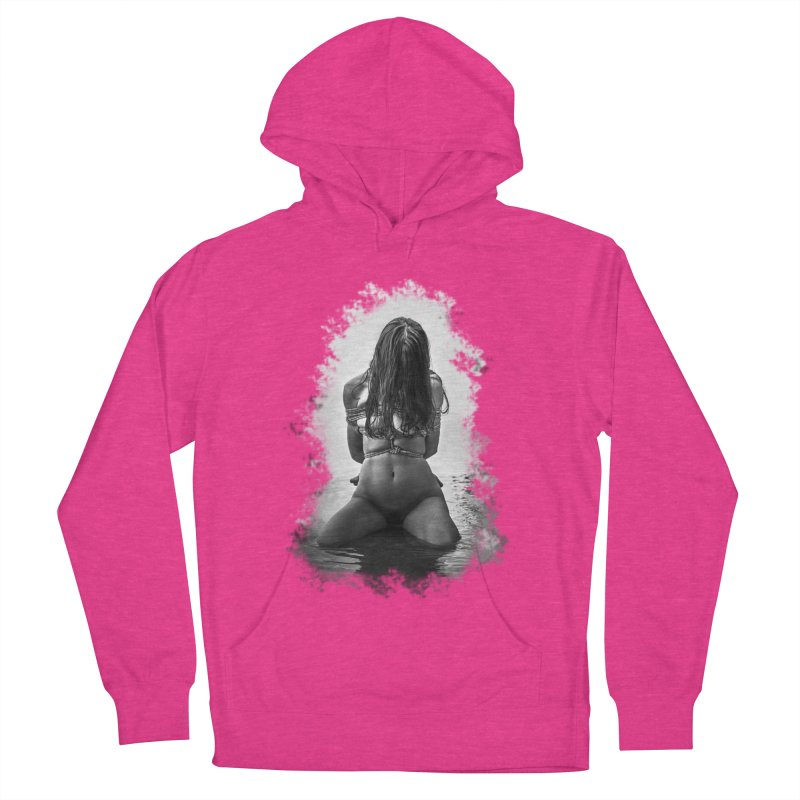 beach bondage Women's French Terry Pullover Hoody by FredRx's Artist Shop