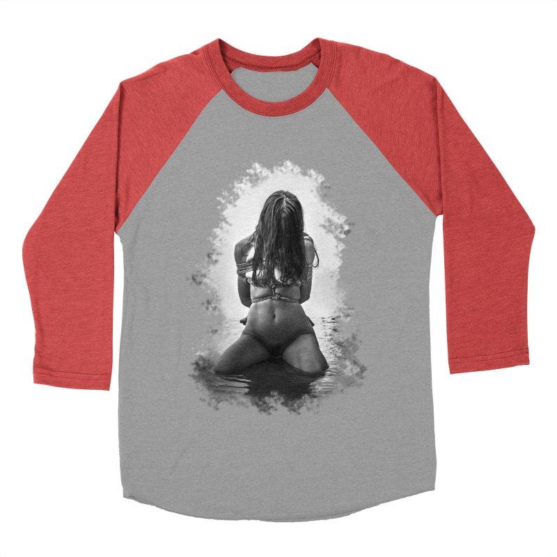 beach bondage Women's Baseball Triblend Longsleeve T-Shirt by FredRx's Artist Shop