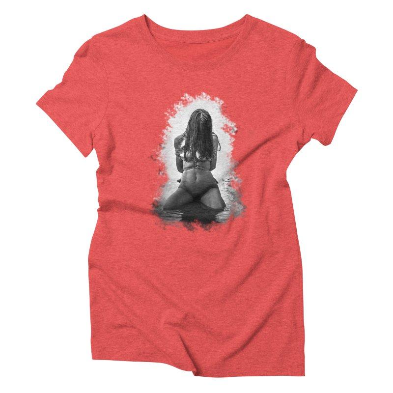 beach bondage  Women's Triblend T-Shirt by FredRx's Artist Shop