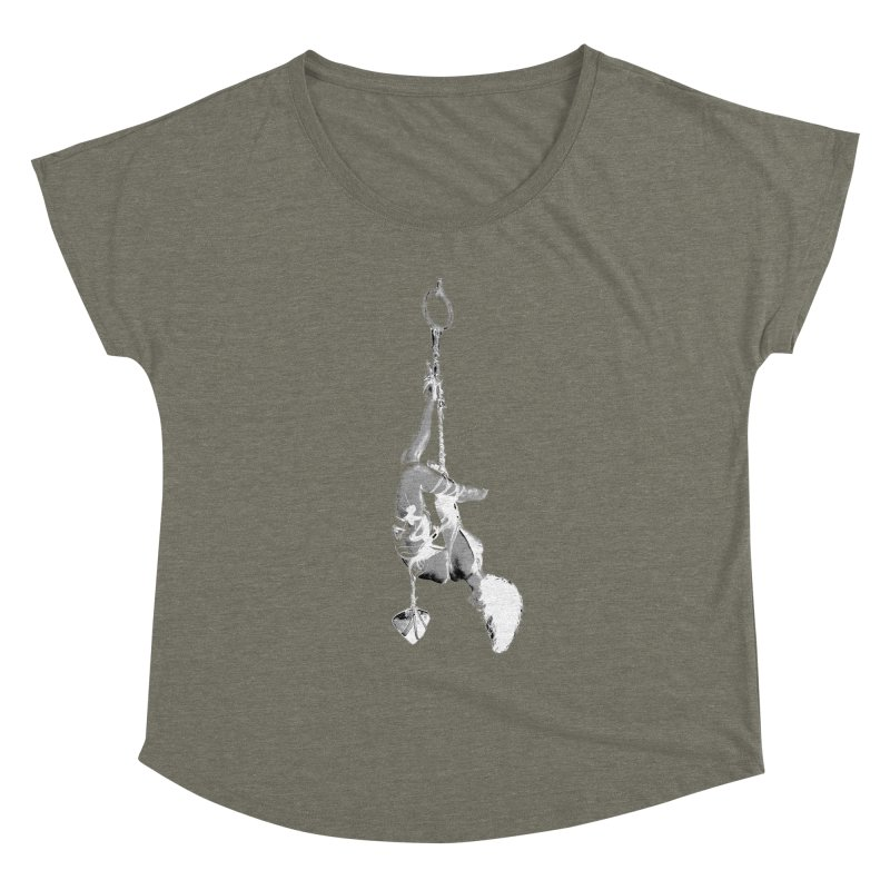 snow bondage Women's Scoop Neck by FredRx's Artist Shop