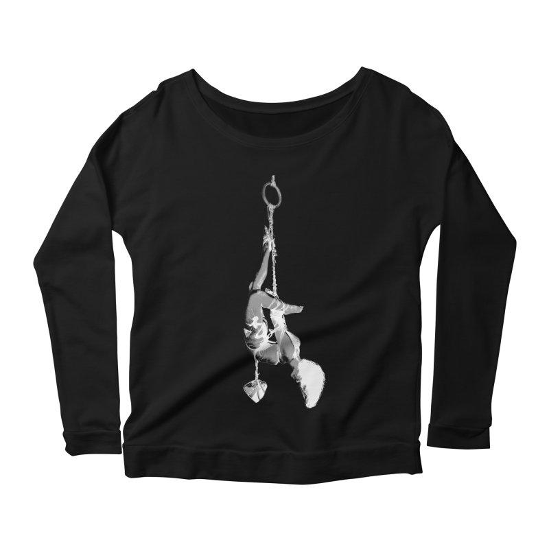 snow bondage Women's Scoop Neck Longsleeve T-Shirt by FredRx's Artist Shop