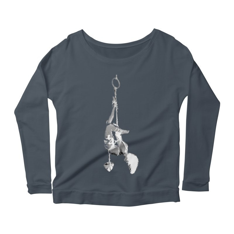 snow bondage Women's Scoop Neck Longsleeve T-Shirt by FredRx's Artist Shop