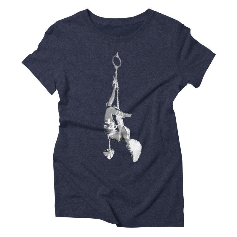 snow bondage Women's T-Shirt by FredRx's Artist Shop