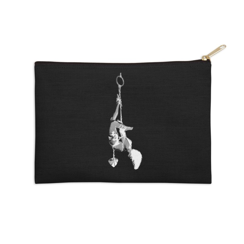 snow bondage Accessories Zip Pouch by FredRx's Artist Shop