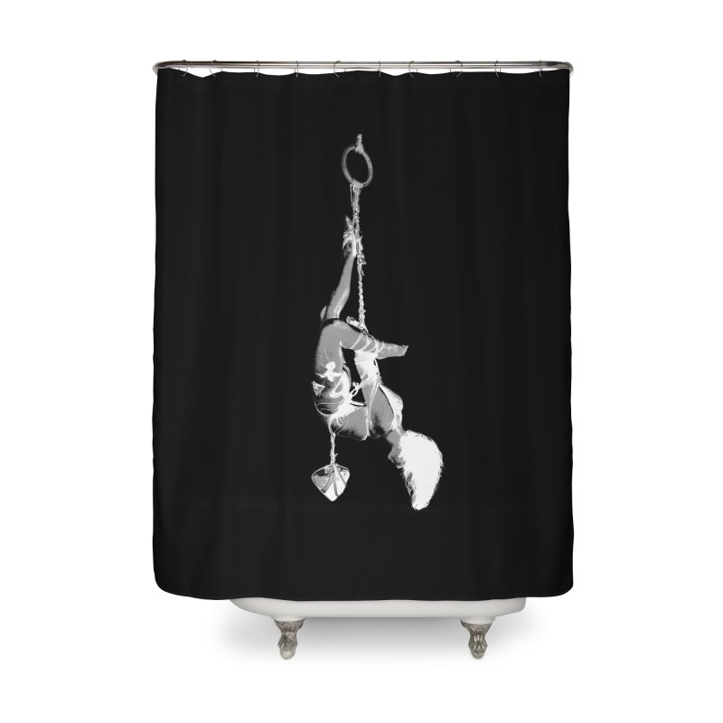 snow bondage Home Shower Curtain by FredRx's Artist Shop