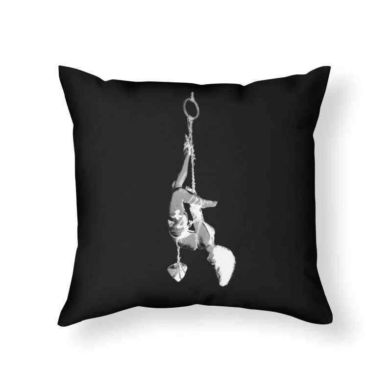snow bondage Home Throw Pillow by FredRx's Artist Shop