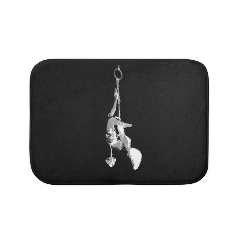 snow bondage Home Bath Mat by FredRx's Artist Shop