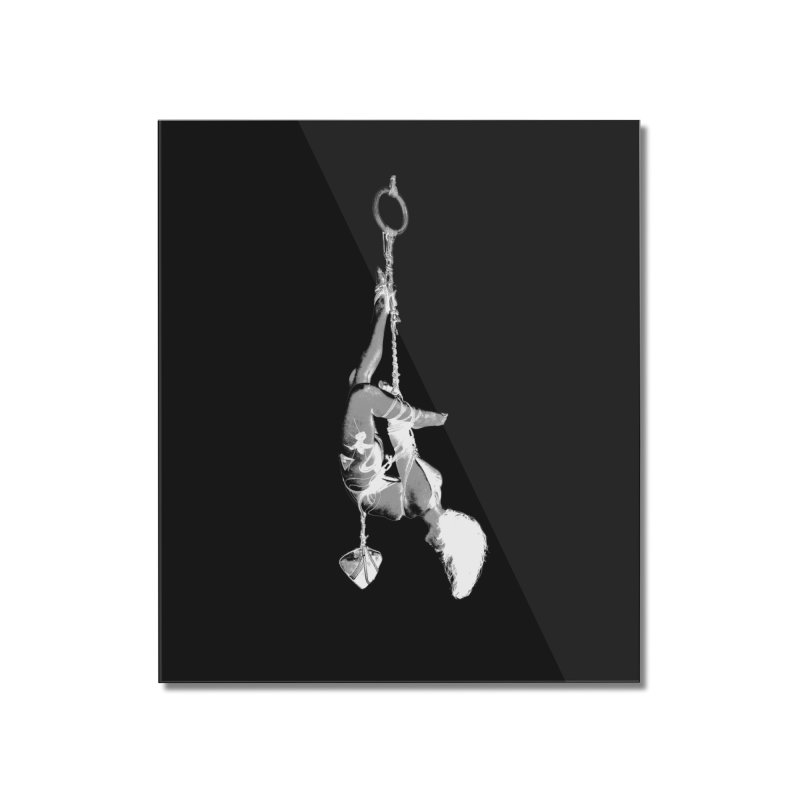 snow bondage Home Mounted Acrylic Print by FredRx's Artist Shop