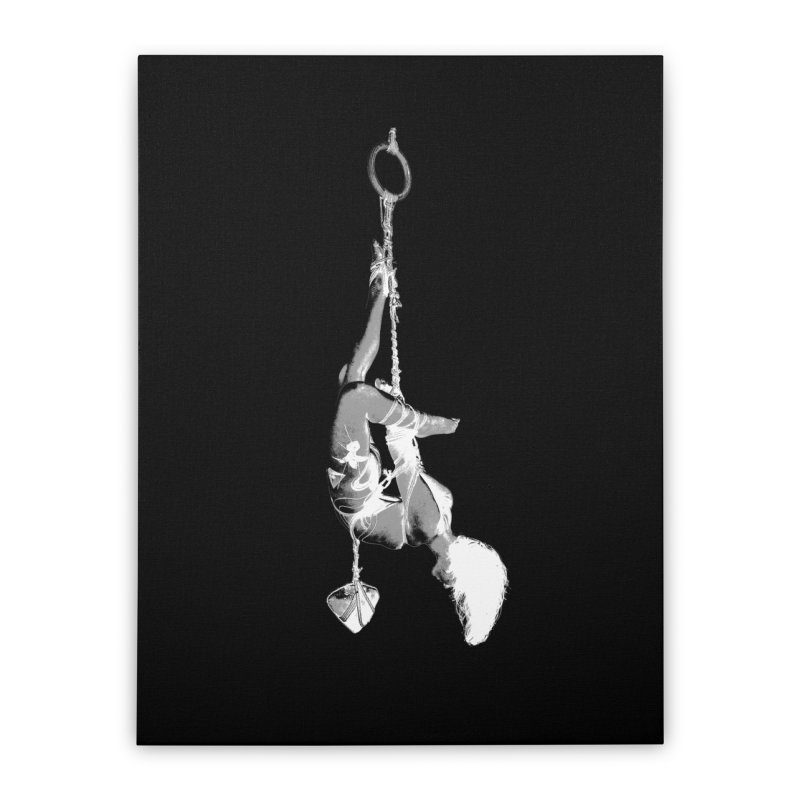 snow bondage Home Stretched Canvas by FredRx's Artist Shop