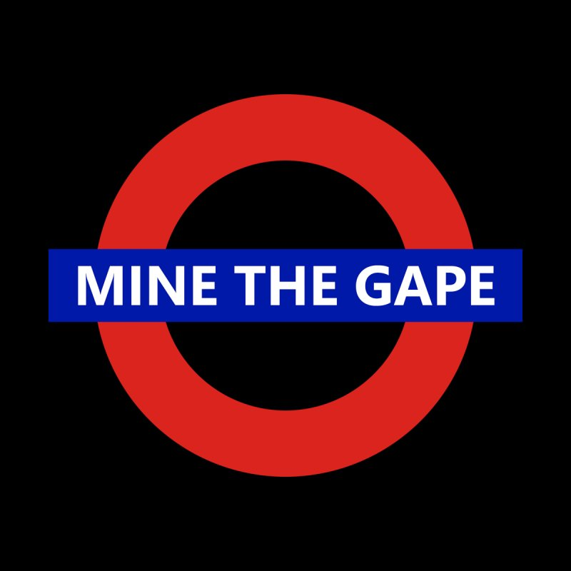 mind the gape Men's T-Shirt by FredRx's Artist Shop