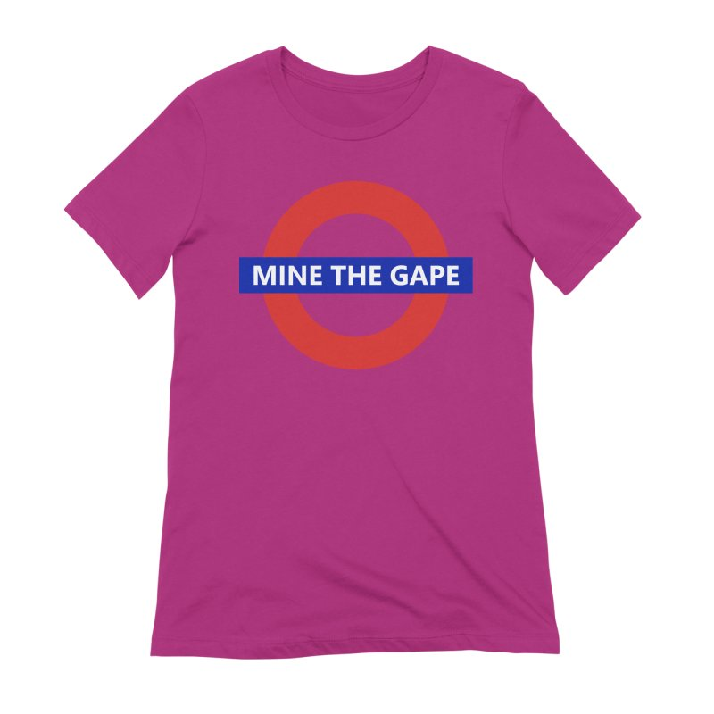 mind the gape Women's Extra Soft T-Shirt by FredRx's Artist Shop