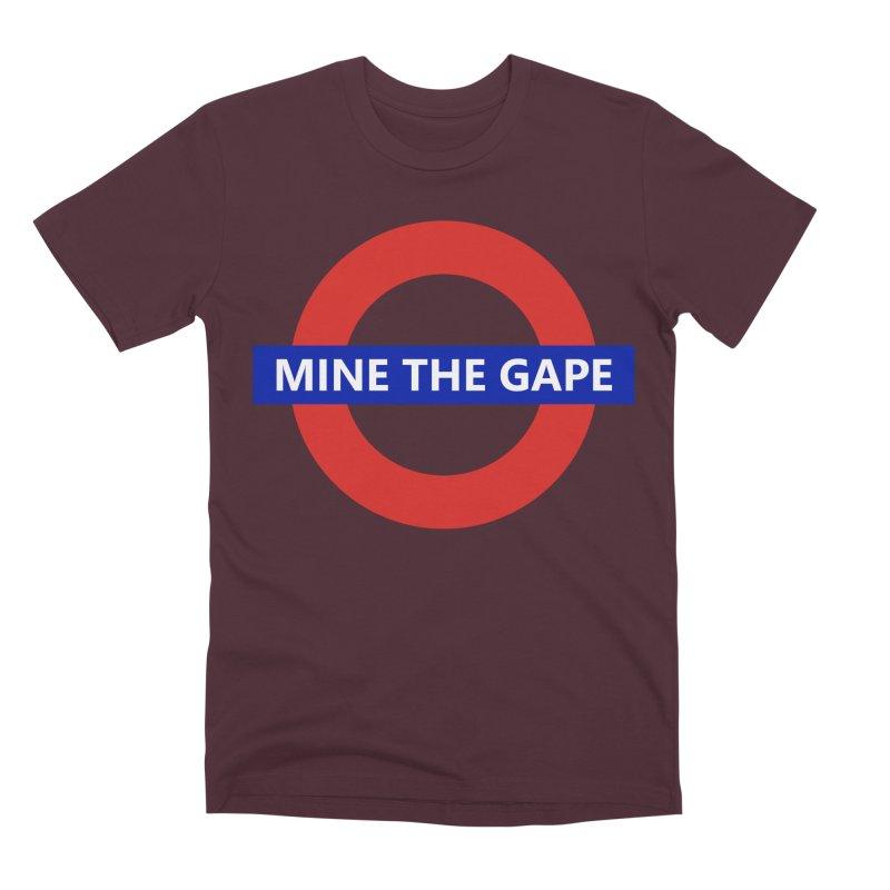 mind the gape Men's Premium T-Shirt by FredRx's Artist Shop