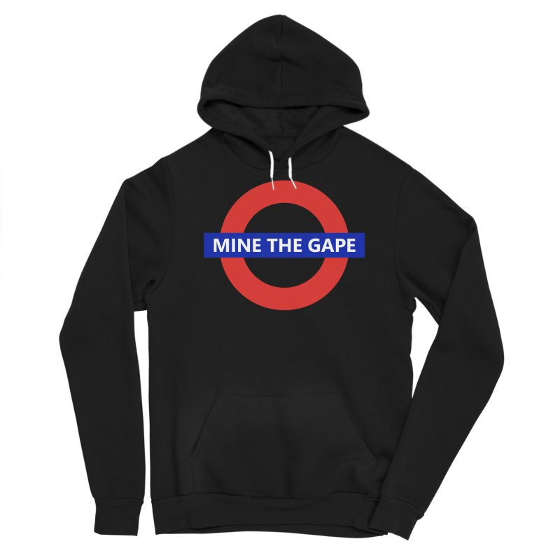 mind the gape Men's Pullover Hoody by FredRx's Artist Shop