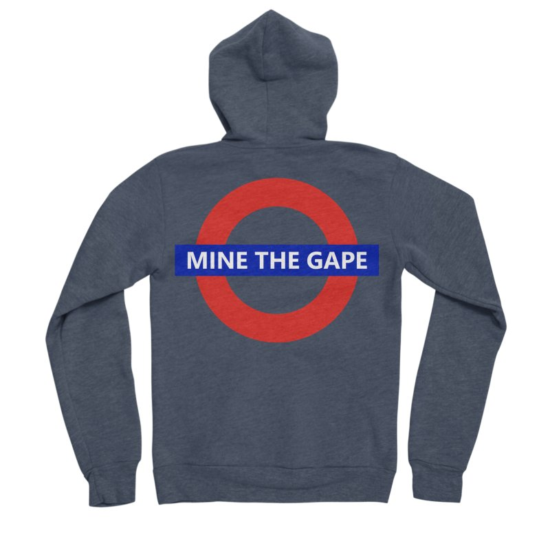 mind the gape Men's Sponge Fleece Zip-Up Hoody by FredRx's Artist Shop