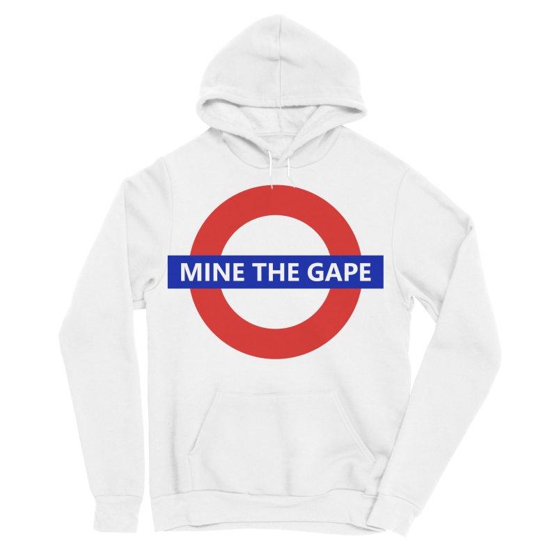 mind the gape Women's Sponge Fleece Pullover Hoody by FredRx's Artist Shop