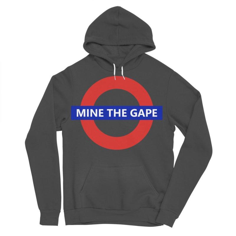 mind the gape Men's Sponge Fleece Pullover Hoody by FredRx's Artist Shop