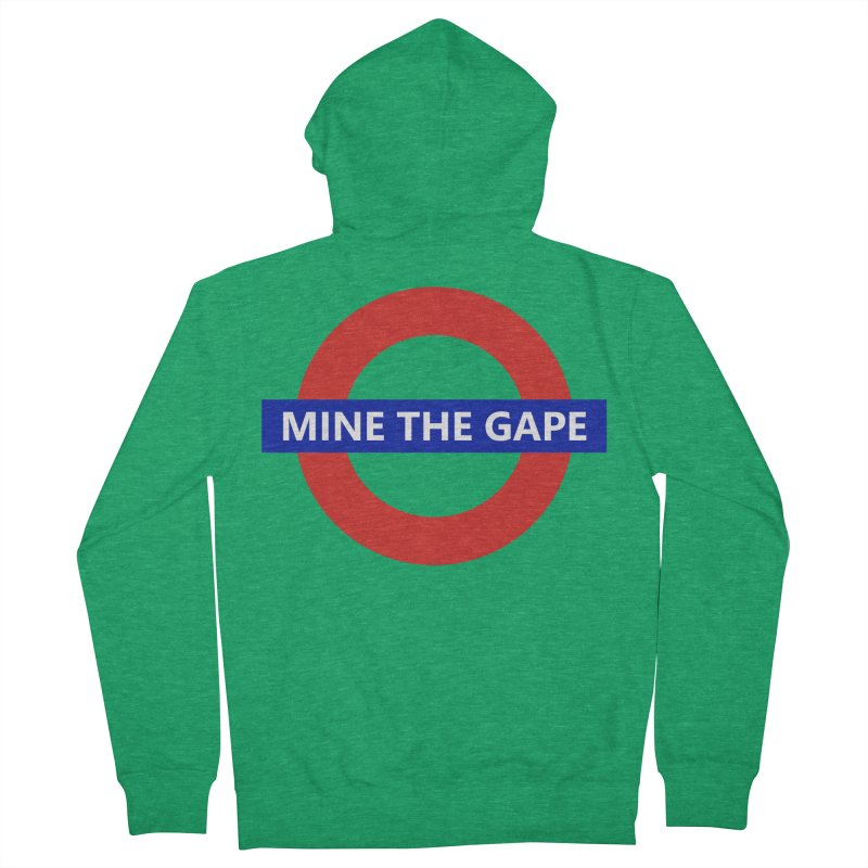 mind the gape Women's Zip-Up Hoody by FredRx's Artist Shop